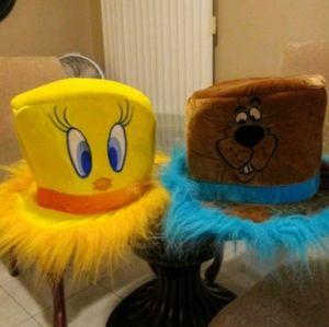Tweety & Scooby Hats